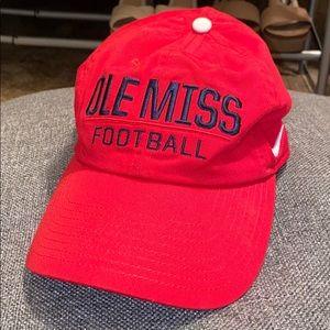 Nike Ole Miss baseball cap - Red